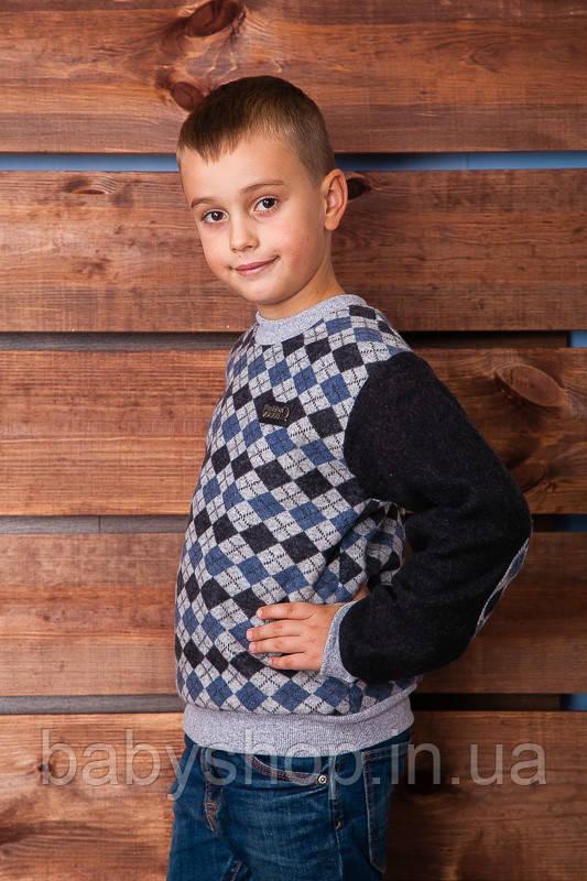 Джемпер для мальчика 1-19. Размер 32 ( 110 см ), 36 (134 см)