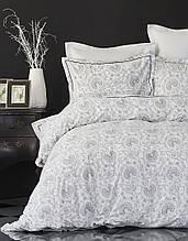 Постельное белье Karaca Home ранфорс Tierra черное евро размер