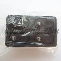 Блок кнопок стеклоподъемников ВАЗ 2110-15, 4 кнопки (Россия, Авар)