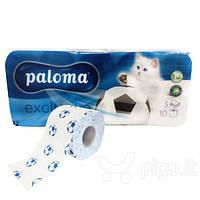 Туалетная бумага Paloma, 10 шт.(Венгрия)
