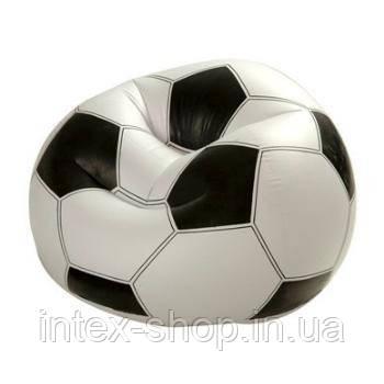 Надувное кресло Футбольный мяч Intex 68557 (108х110х66 см.), фото 2