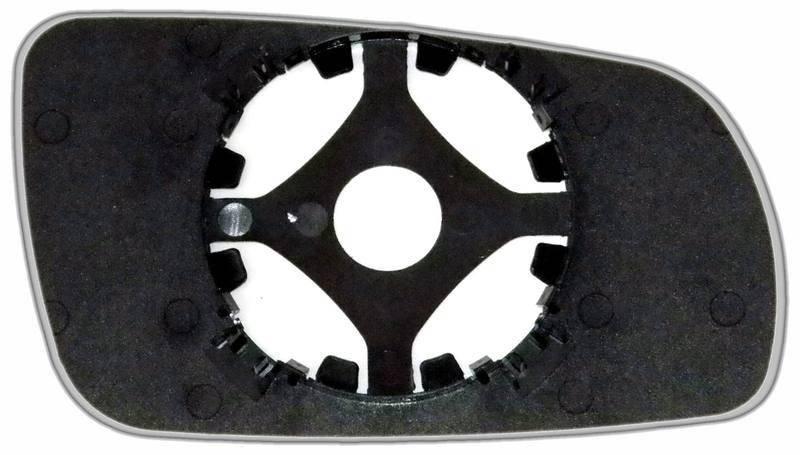 Зеркальный элемент (стекло зеркала) Ауди А8 D2 левый асферический голубой, фото 2