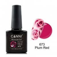 Акварельный гель-лак CANNI 673 пурпурный 7.3ml
