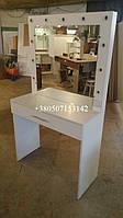 Стол для макияжа с ящиком. Модель V221 белый, фото 1
