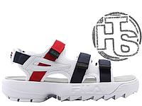 Женские сандалии Fila Disruptor 2 Sandal Summer Shoes White FS1HTZ3082X
