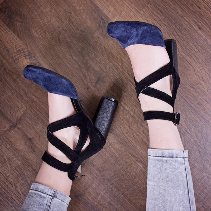 Туфли замшевые 28242