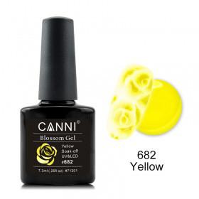 Акварельный гель-лак CANNI 682 желтый 7.3ml