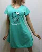 Туника, ночная рубашка, сорочка, ночнушка женская хлопок