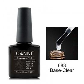 База под акварельный гель-лак Canni 683 прозрачная 7.3ml