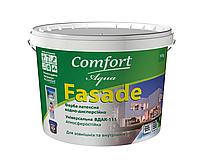 Краска *Comfort*  Фасад 4,2 кг (водоэмульсионная) белая матовая