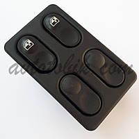Блок кнопок склопідйомників ВАЗ 2110-15, 2 кнопки (Росія, Авар)