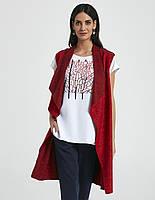 Стильная женская жилетка красного цвета. Модель 250100 Enny, коллекция весна-лето 2018