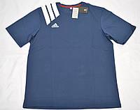 """Мужская футболка """"Батал"""" АBT1802 синий, фото 1"""