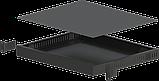 Корпус металевий Rack 1U, модель MB-1370vS (Ш483(432) Г372 В44) чорний, RAL9005(Black textured), фото 3