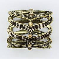 Кольцо для платка  декорировано камнями