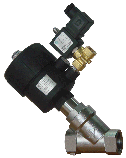 Клапан c пневмоприводом нержавеющий ODE (Italy), фото 4