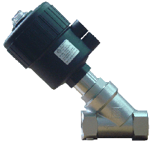 Клапан c пневмоприводом нержавеющий 21IA4T15GC2 (ODE, Italy), G1/2