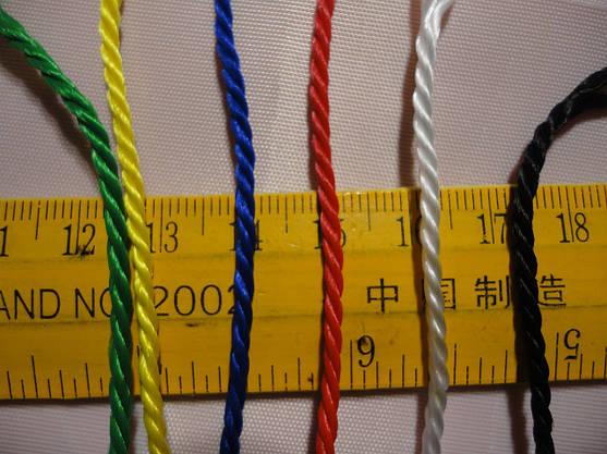 """Волейбольная сетка с шнуром натяжения. D 2,5мм., 12см. ячейка для волейбола""""Эконом 12 Премиум"""", ассорт, фото 2"""