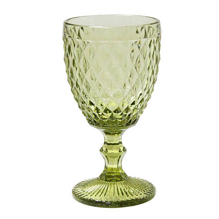 Бокал Кедр из зеленого стекла, 250 мл, фото 2