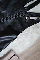 Новый сарафан/комбинезон с юбкой под кожу Atmosphere, фото 2