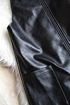 Новый сарафан/комбинезон с юбкой под кожу Atmosphere, фото 3