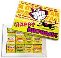Шоколадный набор Happy Birthday