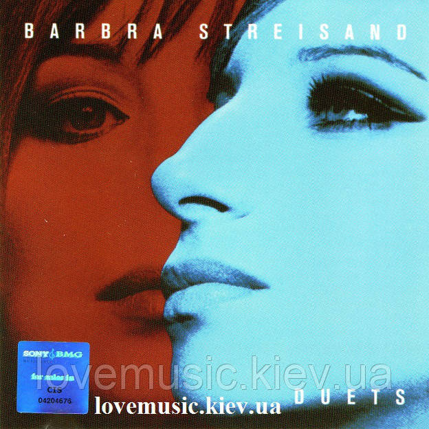 Музичний сд диск BARBRA STREISAND Duets (2002) (audio cd)