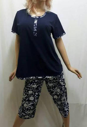 Пижама больших размеров с бриджами, от 50 до 56р-р, Харьков, фото 2