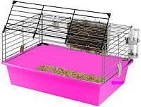 Клетка морской свинки Ферпласт CAVIE 60, 58*38*H 31,5 см фиолетовая