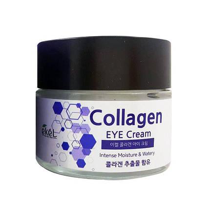 Крем для кожи вокруг глаз с коллагеном Ekel collagen eye cream, 70ml, фото 2