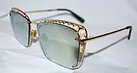 Женские солнцезащитные очки с бусинками