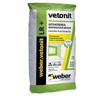 ВЕБЕР-ВЕТОНИТ ЛР плюс / WEBER-VETONIT LR+ шпаклевка полимерная (25 кг)