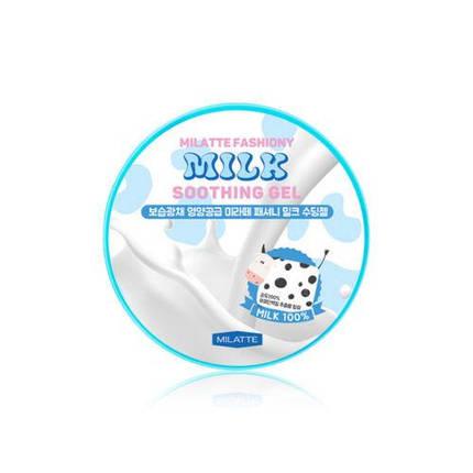 Гель универсальный увлажняющий с молочными протеинами MILATTE Fashiony Milk Soothing Gel, 300 мл, фото 2