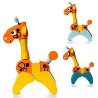 Деревянная игрушка Жираф акробат LA-7 Cubika
