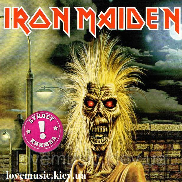 Музичний сд диск IRON MAIDEN Iron maiden (1980) (audio cd)