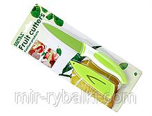 Нож кухонный для очистки овощей и фруктов НК-2 (зеленый)