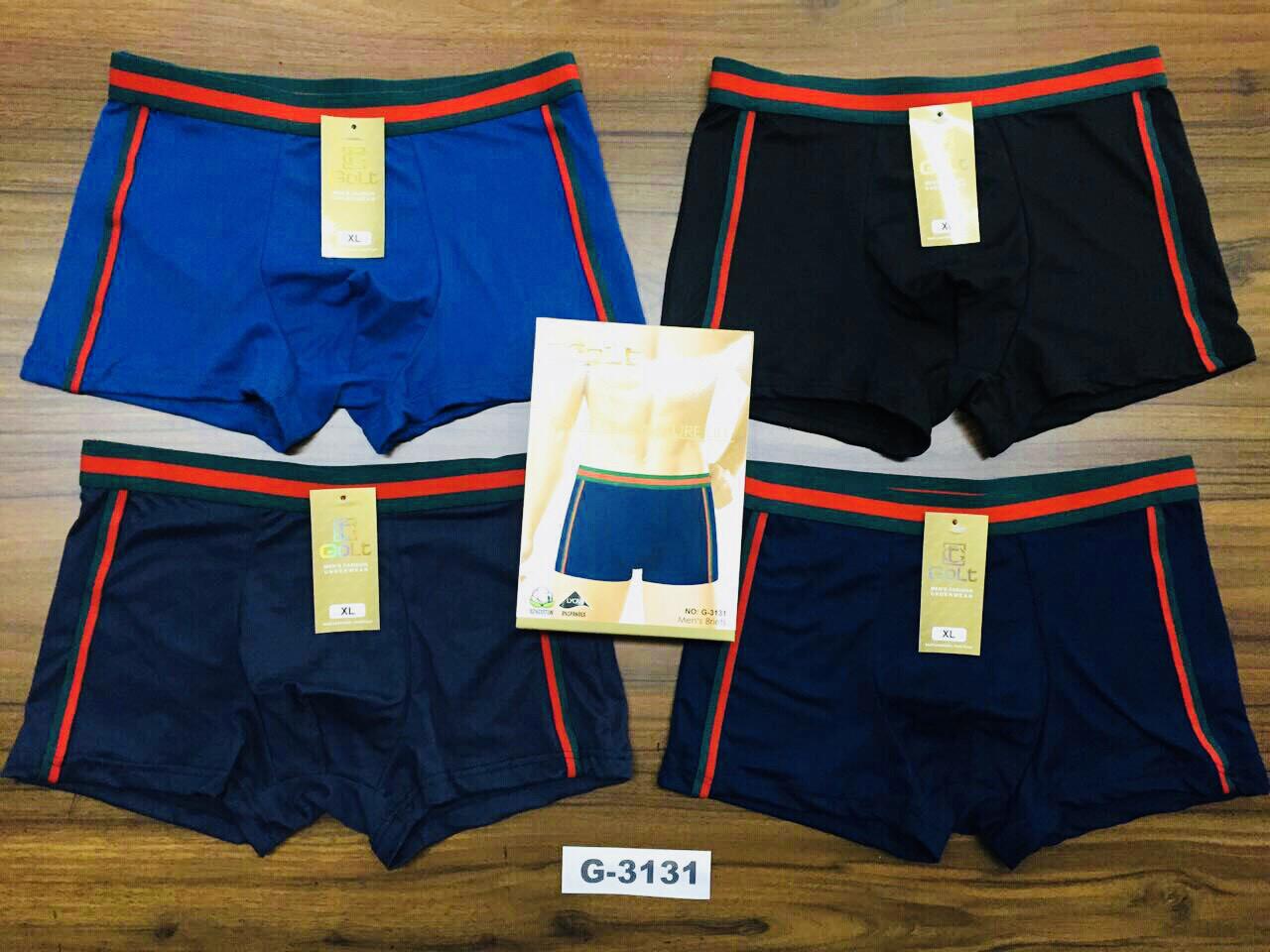 Трусы мужские боксёры хлопок + бамбук GOLT размер L-3XL(46-54) 3131