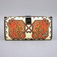 Кошелек кожаный женский цветной Velina Fabbiano 1051-6625, фото 1