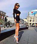 Женский костюм юбка + укороченная кофта, фото 2