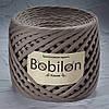 Трикотажная пряжа Bobilon Mini (5-7мм). Какао
