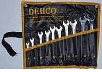 Набор ключей рожково-накидных 10 шт сумка Dehco DT-10