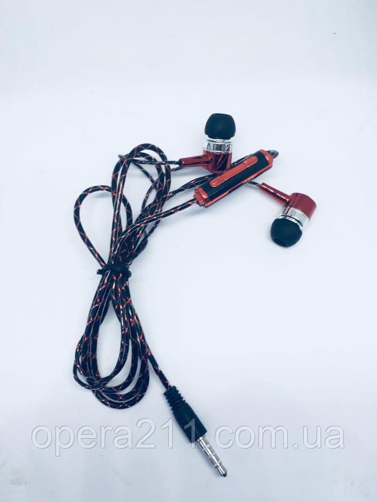 Наушники неоновые с микрофоном