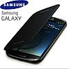 Уценка Черный Чехол к Samsung Galaxy S3 i9300, S3 duos+кышка