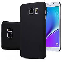 Чехол Nillkin Matte для Samsung Galaxy Note 5 (+ пленка) Черный