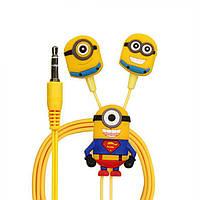 Наушники Minions Superman с микрофоном