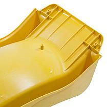 Детская горка для спуска 3 м. KBT Желтая, фото 3