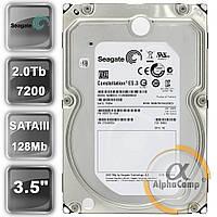 "Жесткий диск 3.5"" 2Tb Seagate ST2000NM0033 (128Mb/7200/SATAIII) БУ"