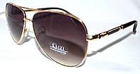 Солнцезащитные коричневые очки Kaizi унисекс