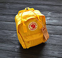 Рюкзак Fjallraven Kanken Mini Bag | Backpack | желтый | yellow