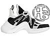 Женские кроссовки реплика Louis Vuitton LV Archlight Sneaker White/Black 1A43K5